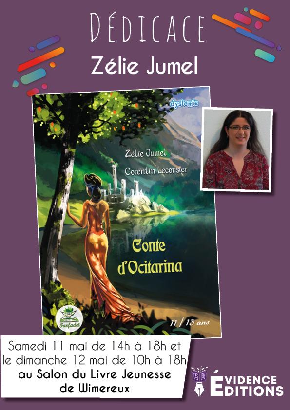 Dédicace - Zélie Jumel au salon du livre Jeunesse